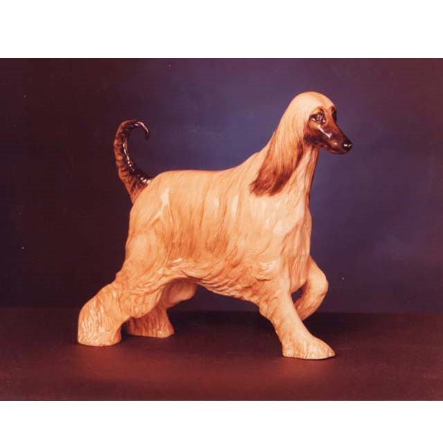 Alfie in  ceramic - Supreme Crufts Champion 1983