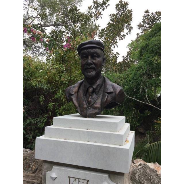 Giuseppe Codali installed in gardens in Gibraltar